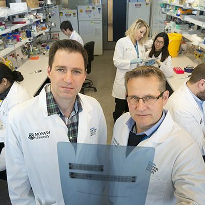 Dr Florian Wiede and Professor Tony Tiganis