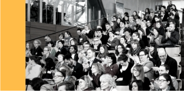 Photo of people at conference
