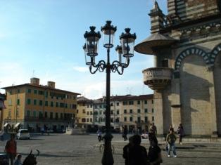 Main piazza in Prato