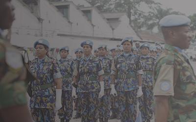 Women as leaders and peacekeepers: Dr Lesley Pruitt