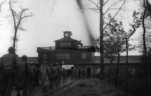 Liberation of Buchenwald – US soldiers, 11 April 1945