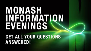 Monash Information Evening Webinar
