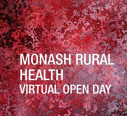 Monash Rural Health Open Day Rural Open Day