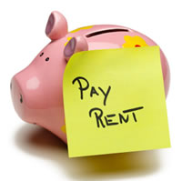 piggy bank rent