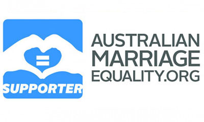 Marriage equality supporter logo