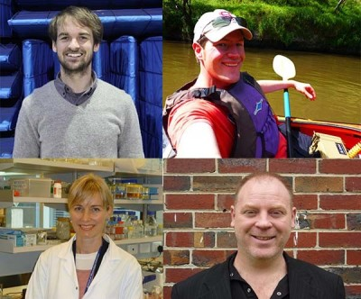 L to R: Dr Timothy Crouch, Dr David McCarthy, Dr Megan Rees, Dr Gregory Knowles. Mr Steven Wang (not pictured)