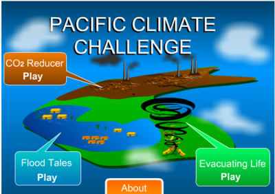 The Pacific Climate Challenge developed by Monash students