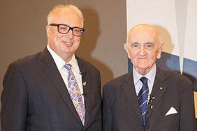 alumni law seminar - Louis Waller and Dean