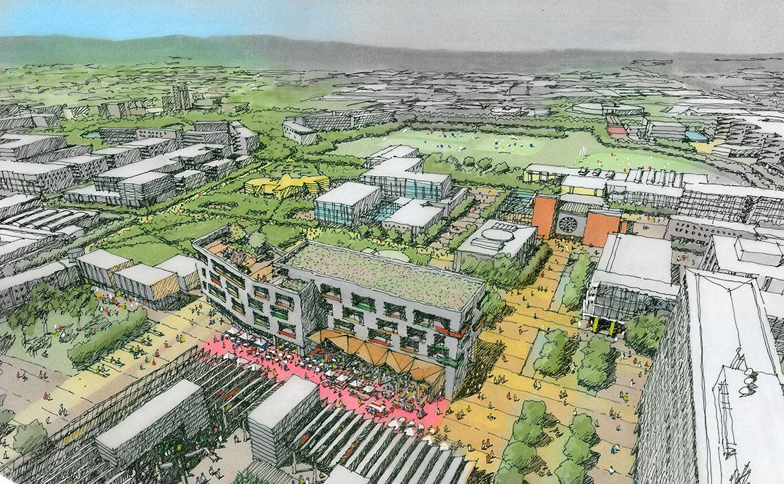 masterplan clayton campus