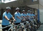 Security patrol bikes