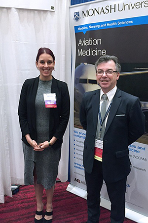 Suzy and David at the 2016 AsMA conference in Atlantic City