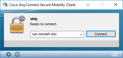 Monash VPN: Install and connect | eSolutions