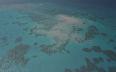 World first research into an Australian sandy cay island: