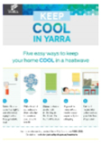 Keep Cool in Yarra – heatwave safety campaign