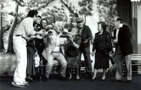 "The David Herman Theatre's last production ""In the Heart of Tel Aviv"" in 1992"