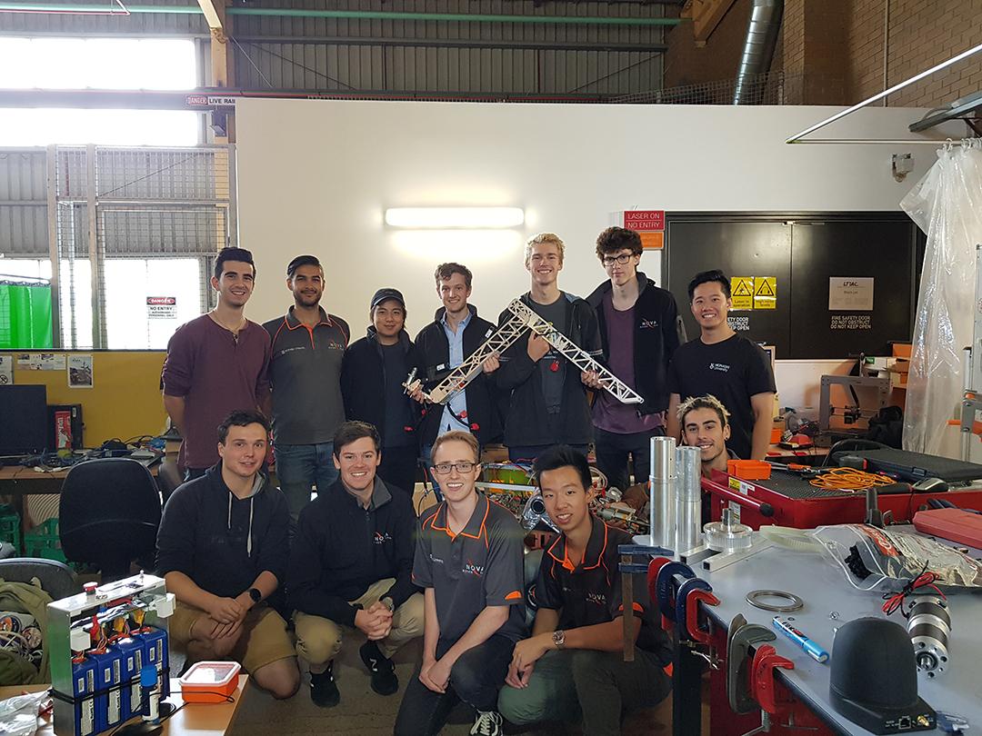 Nova Rover team 2019