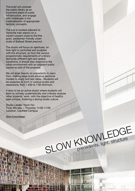 Slow Knowledge