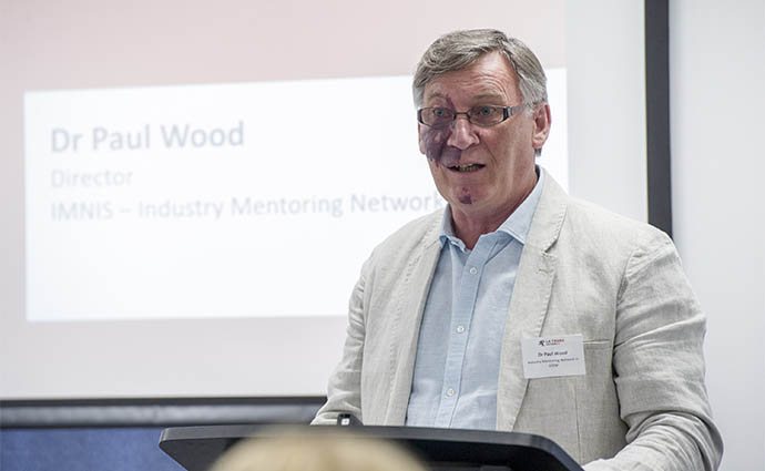 Professor Paul Wood AO.