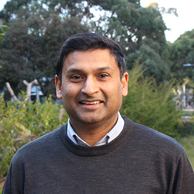 Associate Professor Chrishan Samuel.