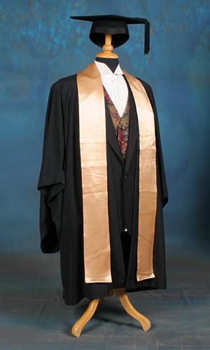 Diploma level academic dress