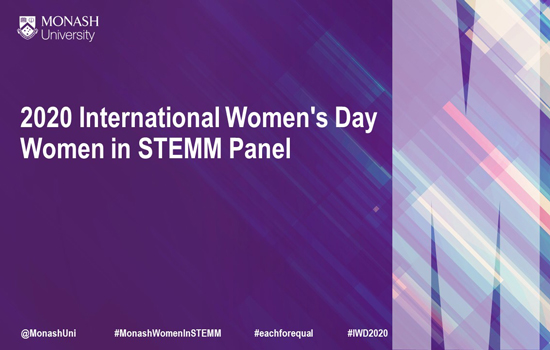 2020 International Women's Day - Women in STEMM Panel Session
