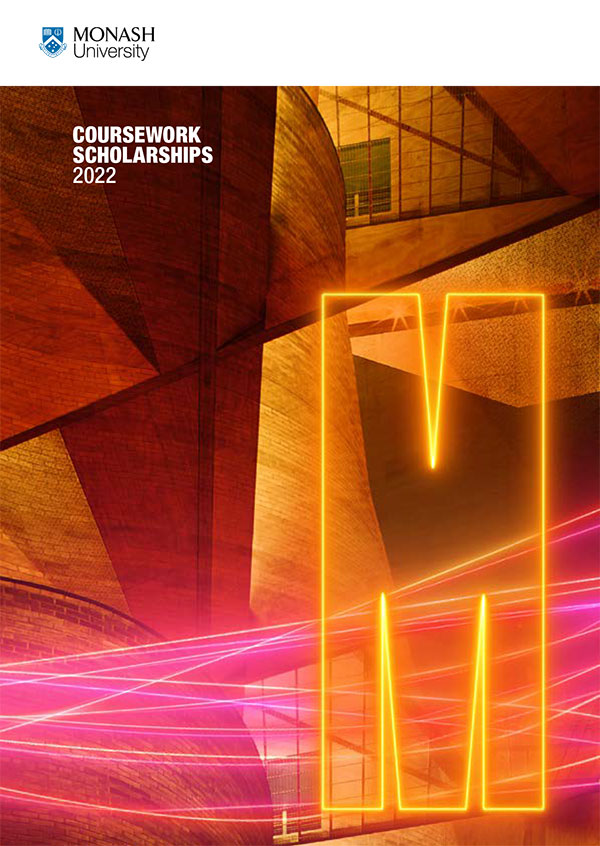Monash Scholarship Guide 2022 Guide cover