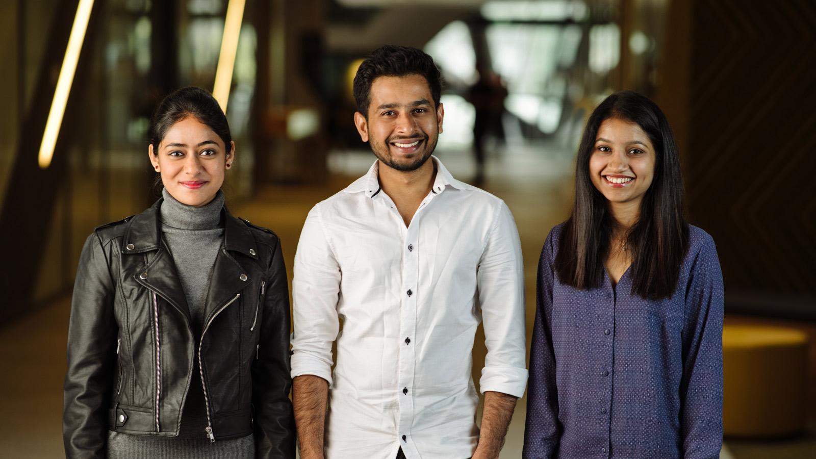 Hari Selvaraj, Minu Cyriac and Mishadi Herath