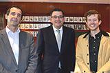 The Premier with Parliamentary Supervisor Jon Breukel and former intern Tom Hvala