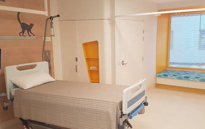 Monash Children's Hospital interior