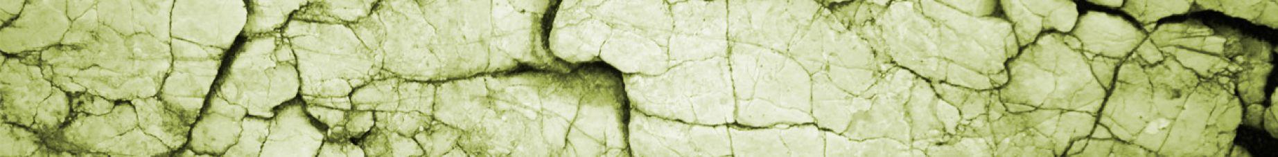 Rock formation light green