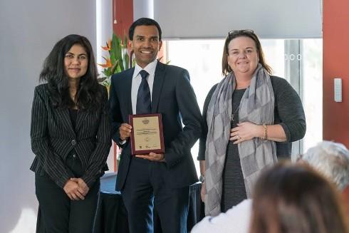 Professor Ranjith Pathegama Gamage won a Scopus Researcher Award