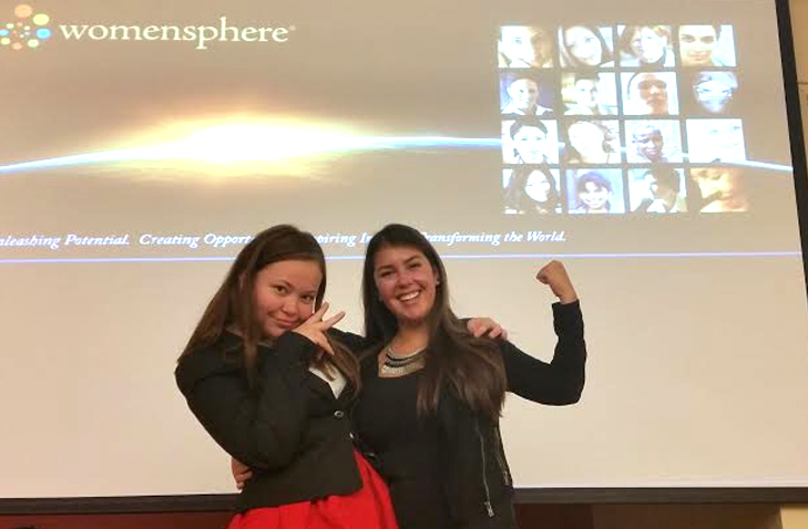 Constanza Malebrán and Jessica Kensey at the Womenshpere Summit