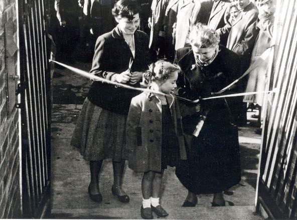 Opening of the I.L. Peretz School at 885 Drummond Street Carlton, 1956