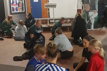 Community Education by Paramedic students
