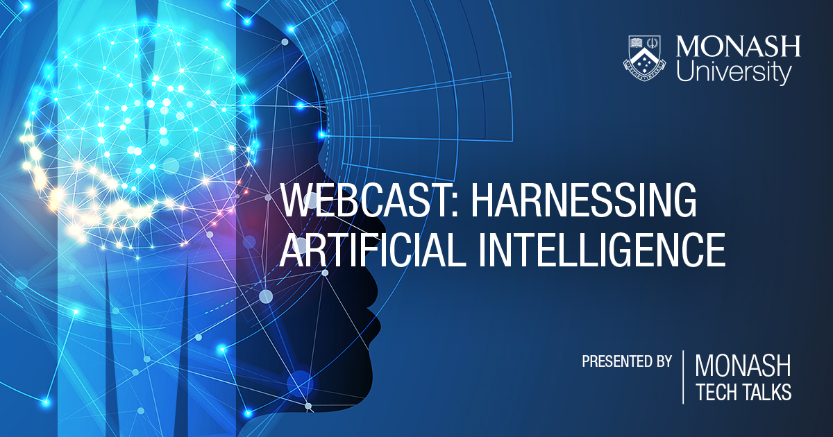 Harnessing AI Webcast Banner