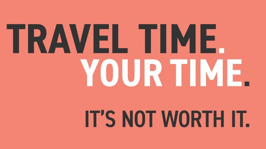 Travel Time. Your Time.
