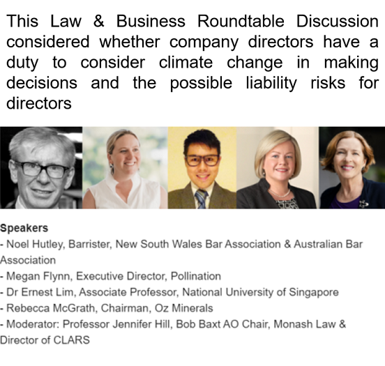 Corporations and Climate Change, 16 July 2020