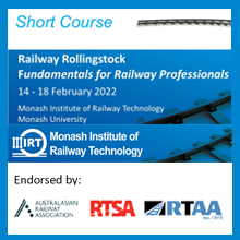 Railway Rolling Stock - Fundamentals of Design, Maintenance and Operations 2022 rolling stock short course 2021