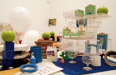 Midori Mitamura, Art & Breakfast, Melbourne (detail), 2011, installation view. Photo: Midori Mitamura