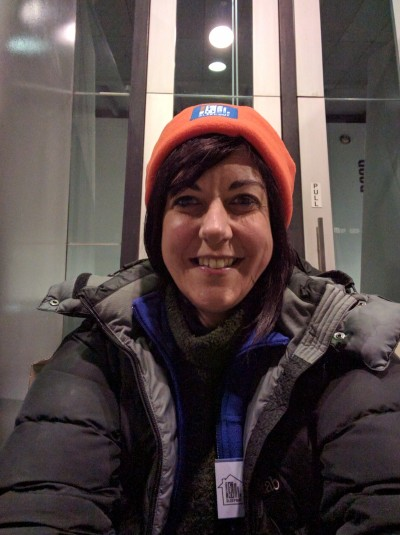 Monash Vision COO Dr Jeanette Pritchard slept rough last month as part the 2016 Vinnies CEO Sleepout.