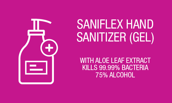 Hand sanitiser now available in-store
