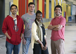 International students at Monash University