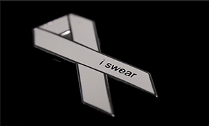 white ribbon - re-accreditation