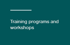 Training programs and workshops button
