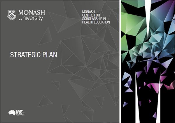 Strategic plan brochure
