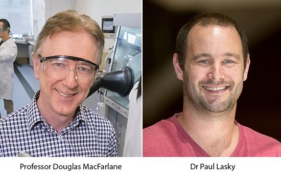 Prof MacFarlane and Dr Lasky