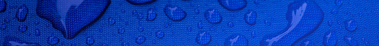 Water droplets blue