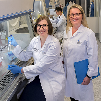 Dr Kylie Quinn and Professor Nicole La Gruta.