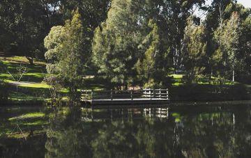 Monash Clayton campus lake
