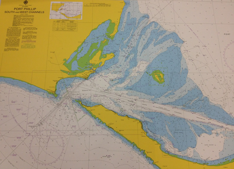 The Map Collection holds a wide selection of Australian navigation charts